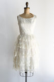 1950s Layered Lace Dress - XS/S
