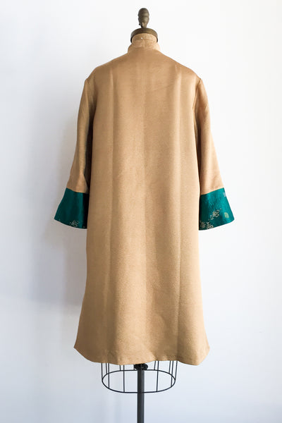 1960s Reversible Brocade Duster - M