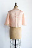 1930s Silk and Lace Jacket - S/M