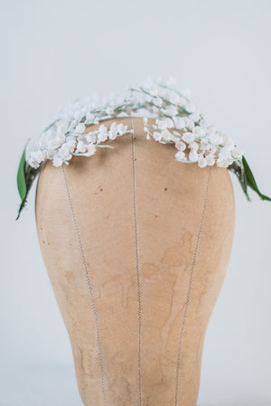 Vintage Lily-of-the-Valley Side Headpieces