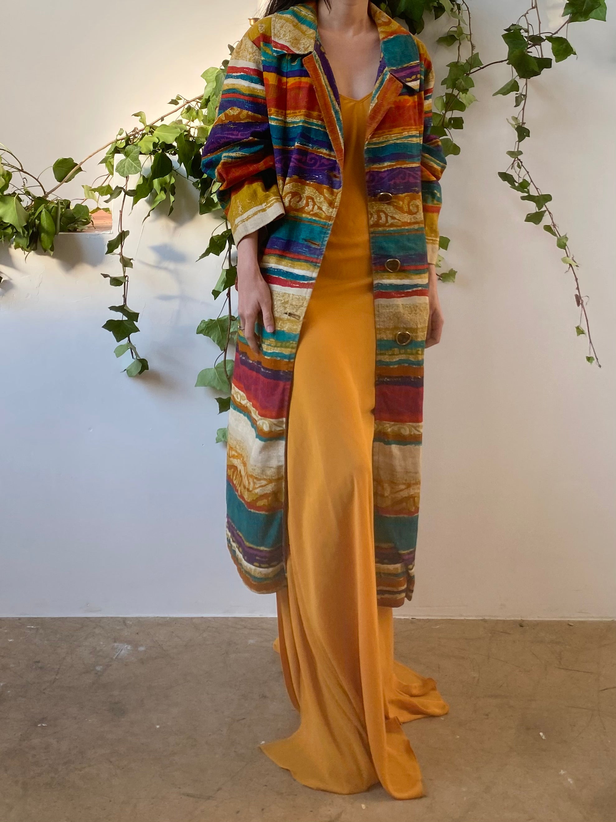 Vintage Abstract Duster