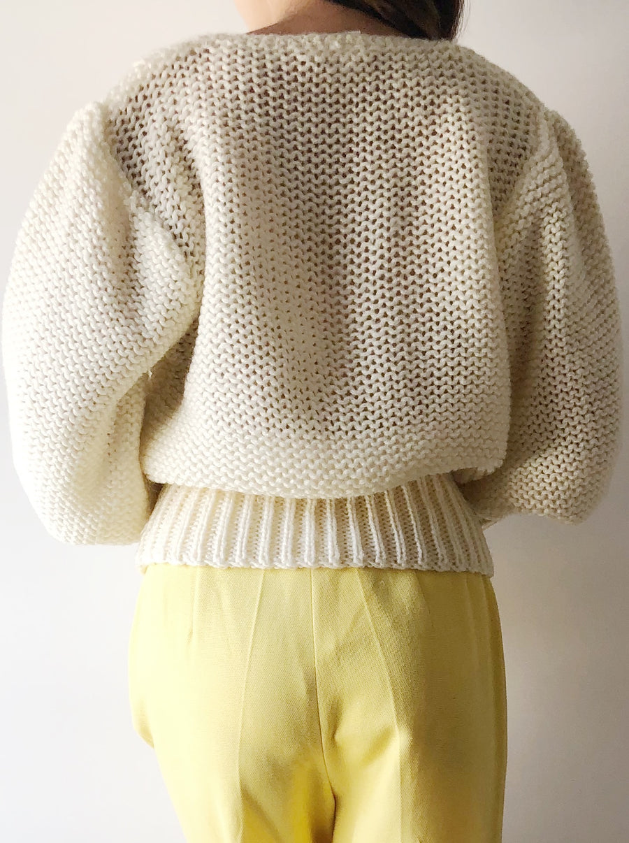 Vintage Mutton Knit Top - M/L