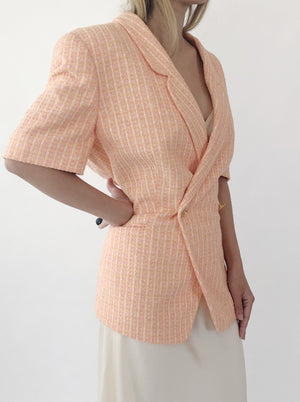 Vintage Escada Tweed Blazer - M