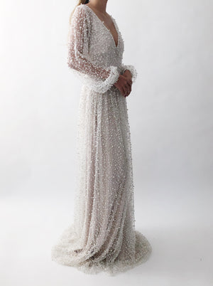 GOSSAMER Ivory Pearl Dress