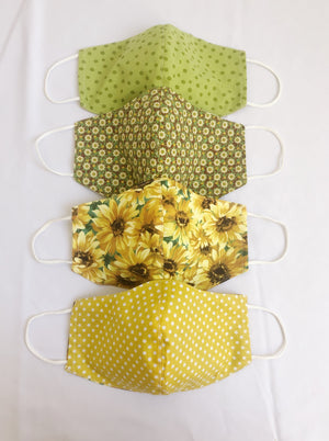 2-in-1 Reversible Summer Cotton Face Mask