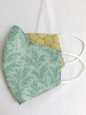 Seafoam Green Face Mask