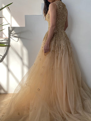 Zuhair Murad Embellished Tulle Gown - XS/0/2/IT36