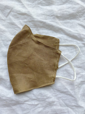 Premium Linen Face Mask With Filters
