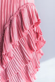 [SOLD] Dusty Rose Mary McFadden Pleated Dress