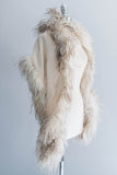 [SOLD] Ostrich Feather Silk Shawl
