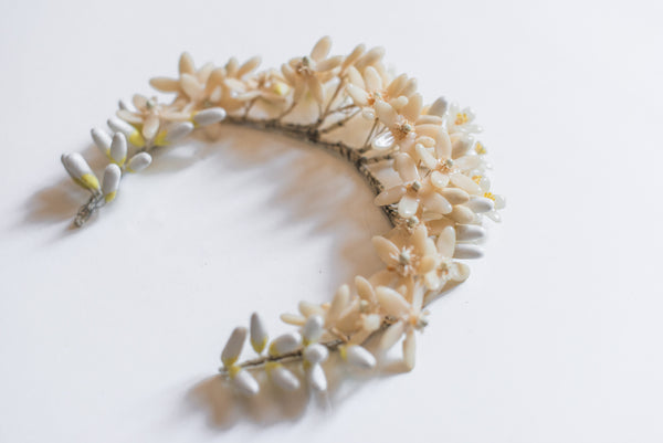 1920's Wax Orange Blossoms Tiara
