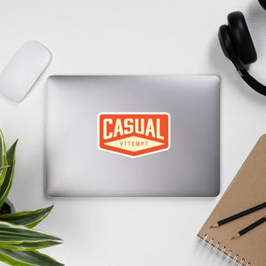 Casual Attempt stickers - Casual Attempt