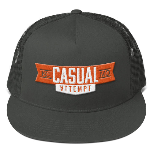 Casual Mesh Back Snapback - Casual Attempt