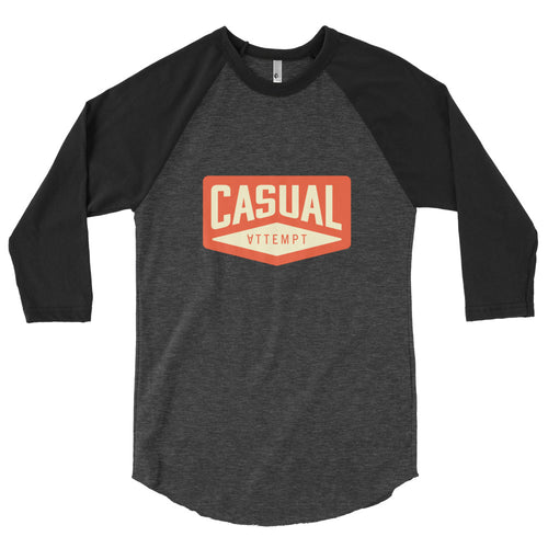 Casual Baseball Tee - Casual Attempt
