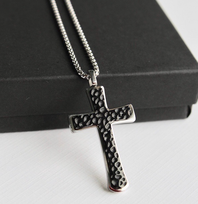 Double Cross Necklace (Free Shipping)