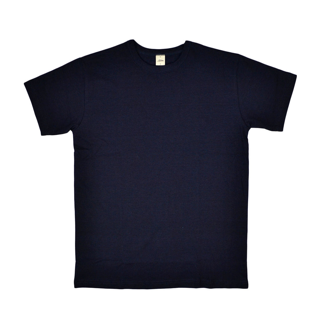HEAVYWEIGHT PLAIN TEE - INDIGO