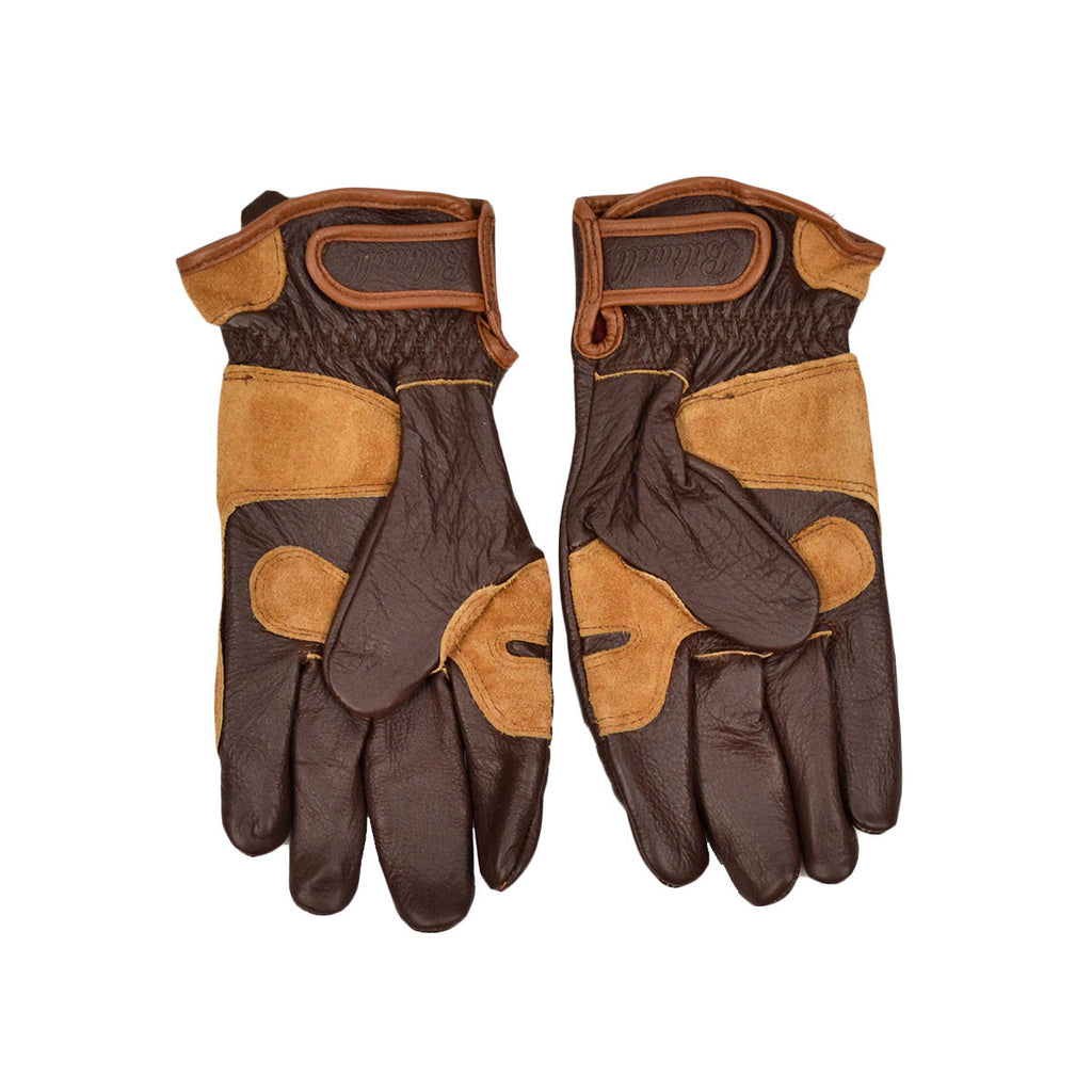 BILTWELL WORK GLOVE - CHOCOLATE