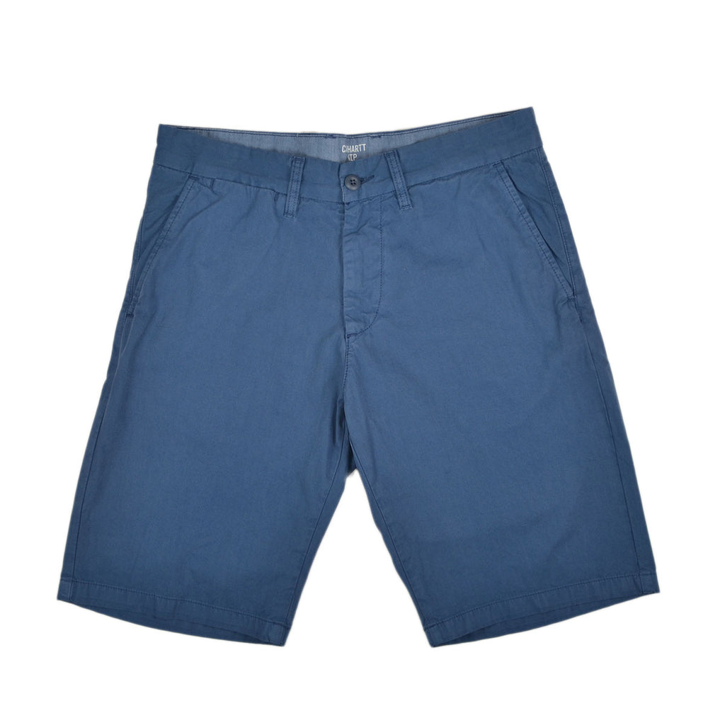 JOHNSON TWILL SHORTS - BLUE IRIS