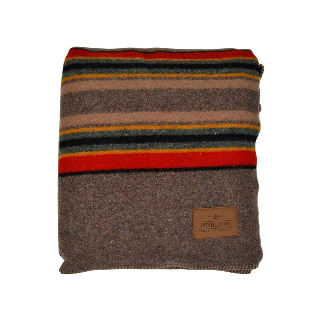 PENDLETON CAMP BLANKET - UMBER