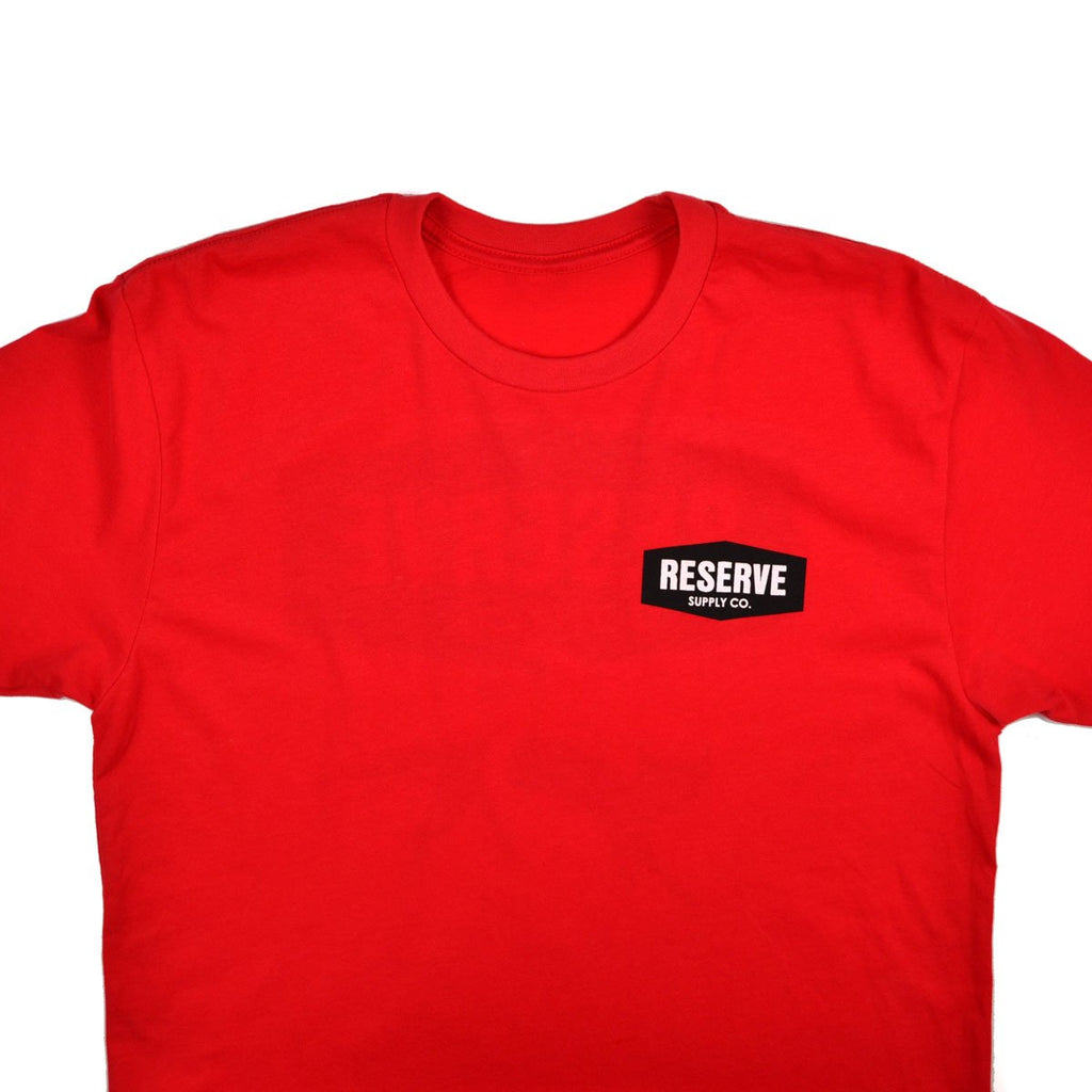 NINE LIVES S/S TEE - RED