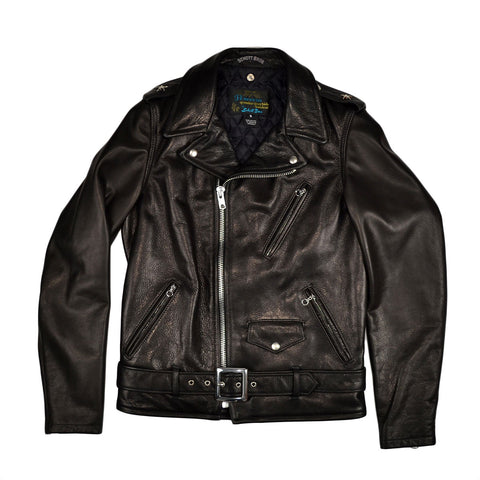 PERFECTO MOTORCYCLE LEATHER JACKET - BLACK