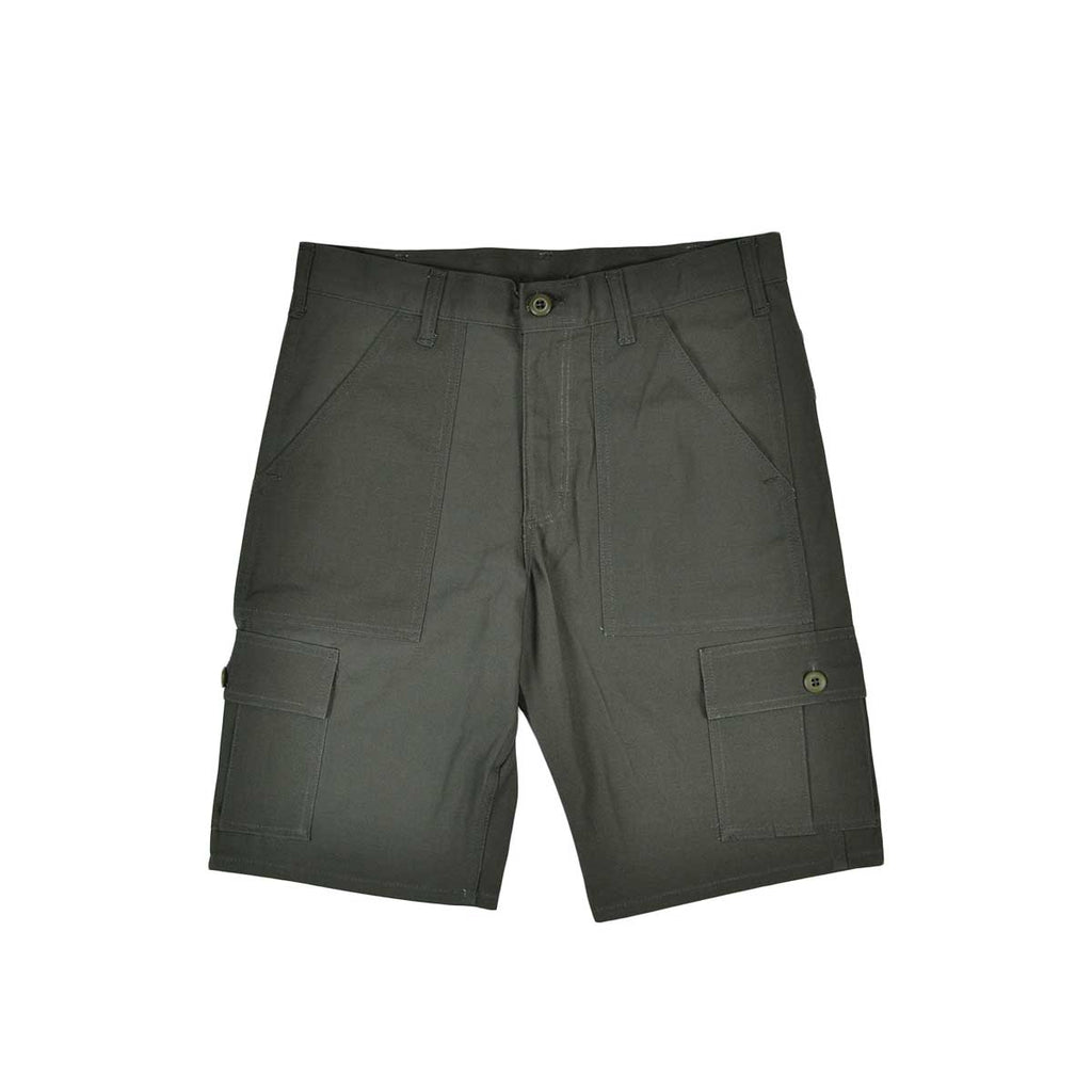CARGO SHORT - OLIVE RIPSTOP