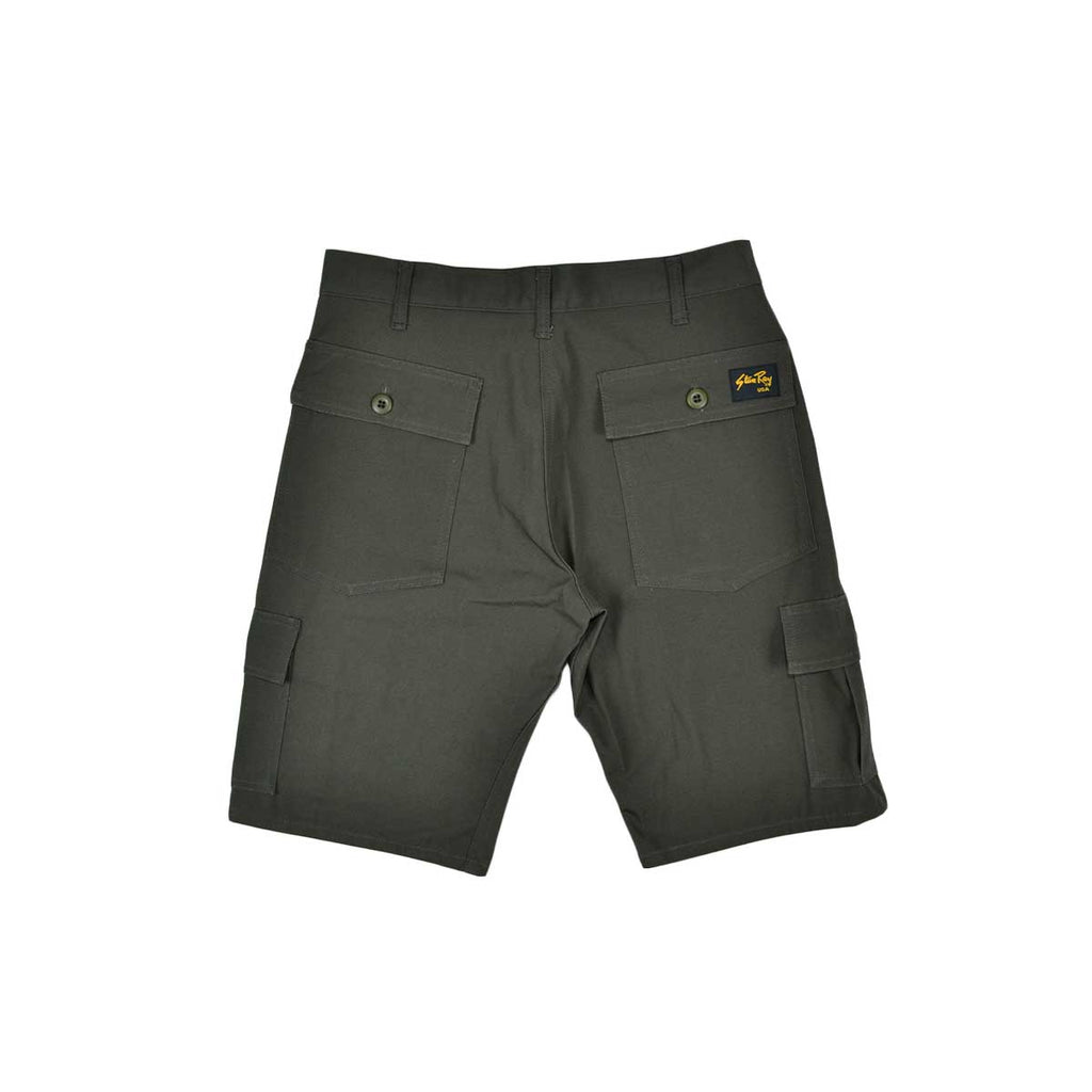 CARGO SHORT - OLIVE RIPSTOP (FINAL SALE ITEM)