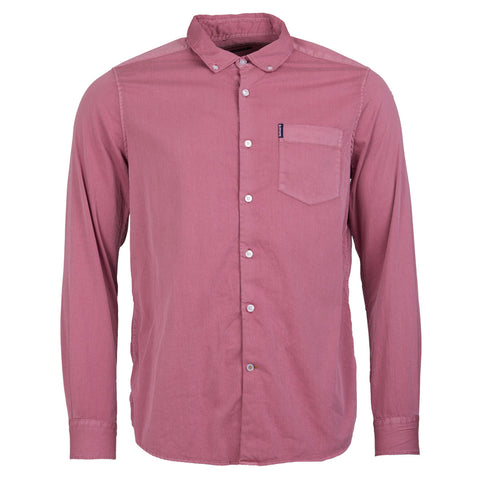 BEDFORD CORD SHIRT - WASHED RED
