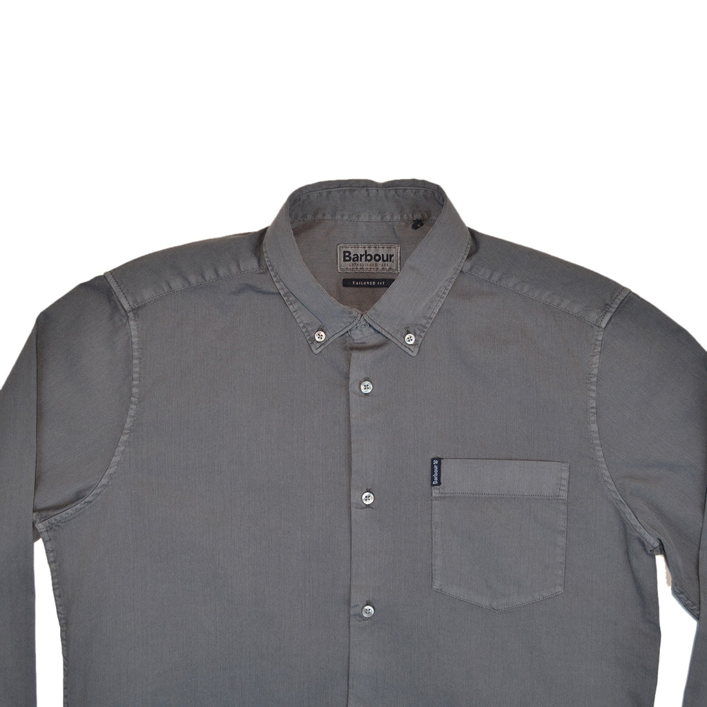 BEDFORD CORD SHIRT - WASHED CHARCOAL
