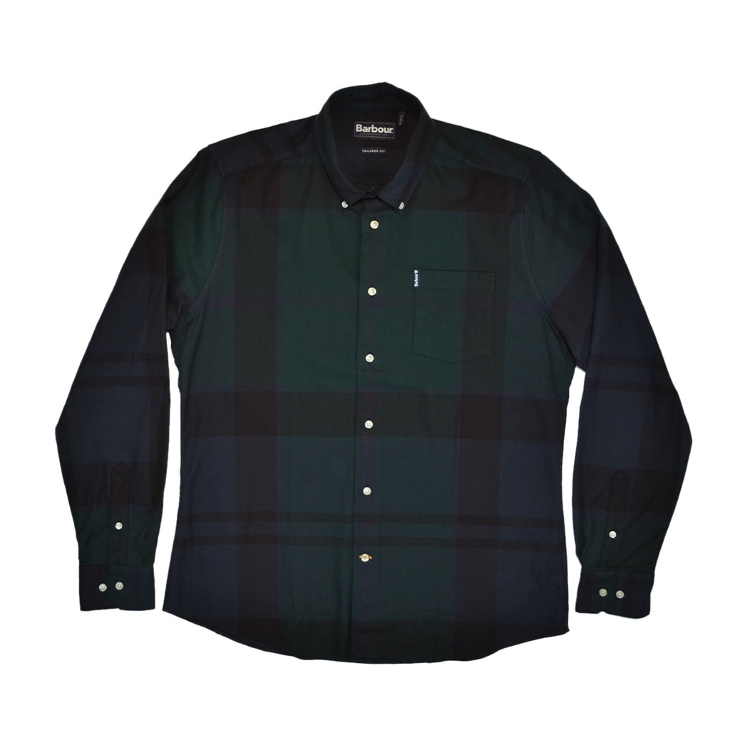 DUNOON SHIRT - BLACK WATCH TARTAN