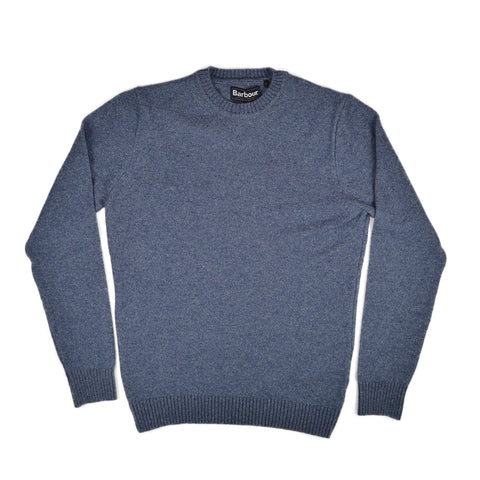 GILES CREW SWEATER - DENIM MARL