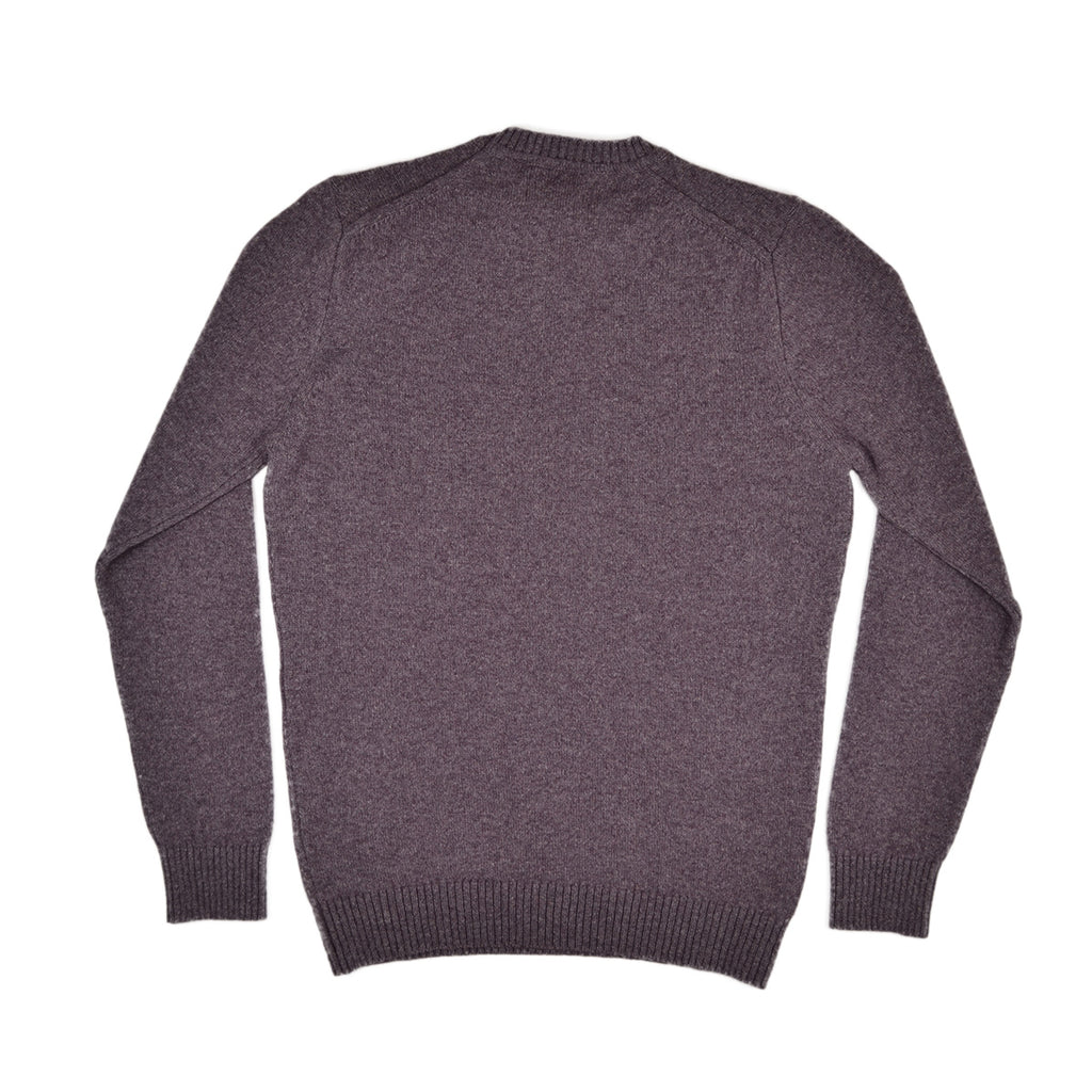 GILES CREW SWEATER - HEATHER MARL