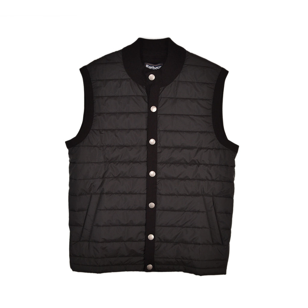 BARBOUR ESSENTIAL GILET - BLACK