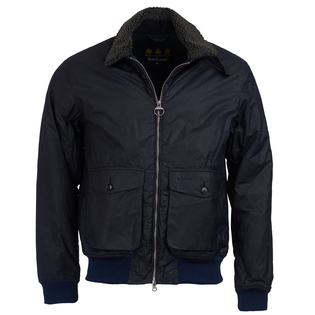 GOOSALL WAX JACKET - NAVY