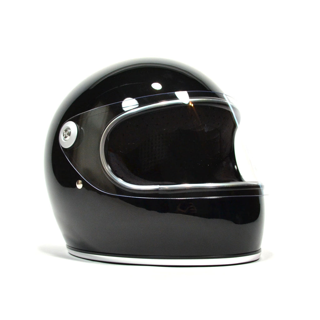 BILTWELL GRINGO S FULL FACE - GLOSS BLACK