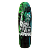 HARD TIMES 4 MODERN DECK - BLACK DAY-GLO ACID SPLATTER