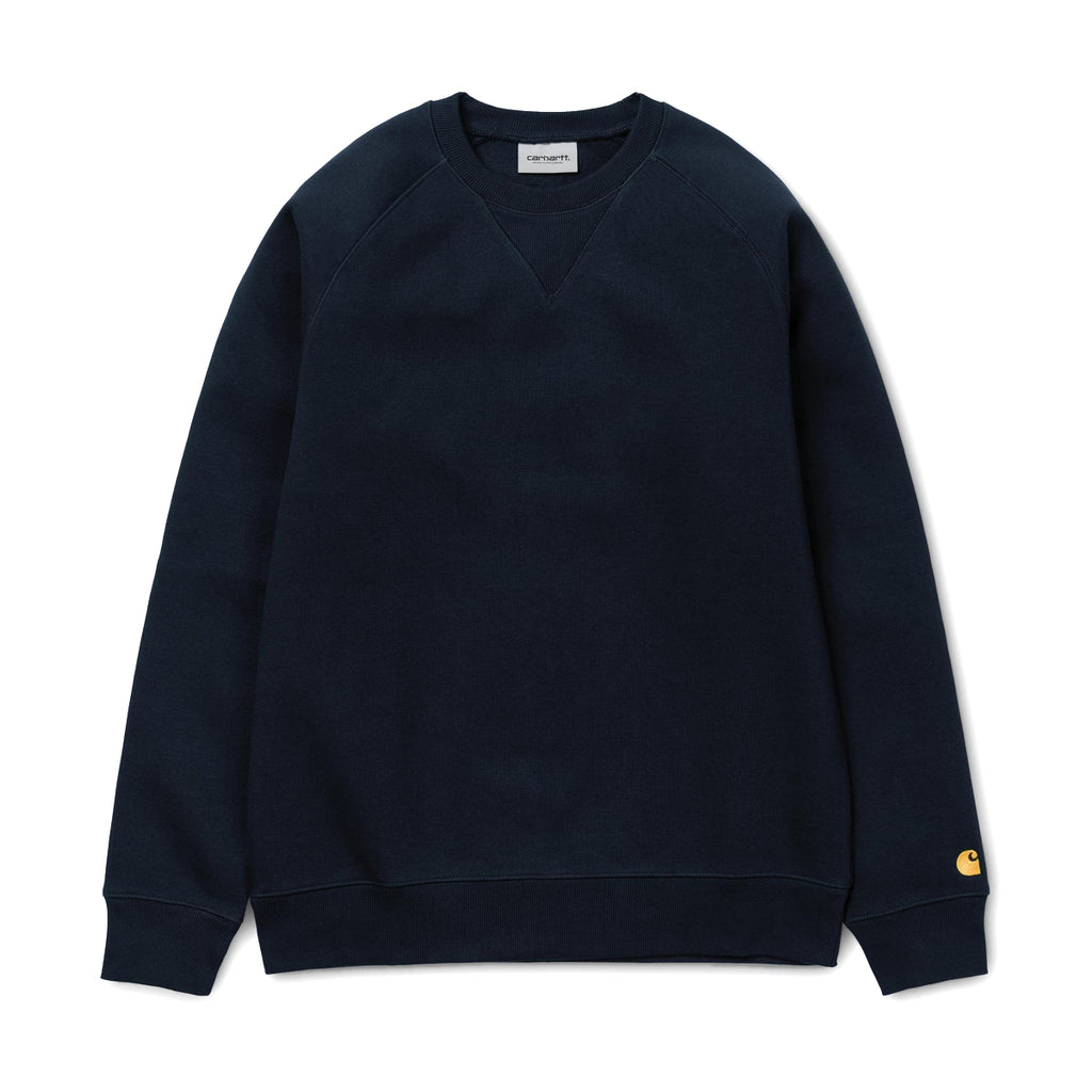 CARHARTT WORK IN PROGRESS CHASE SWEATSHIRT - DARK NAVY