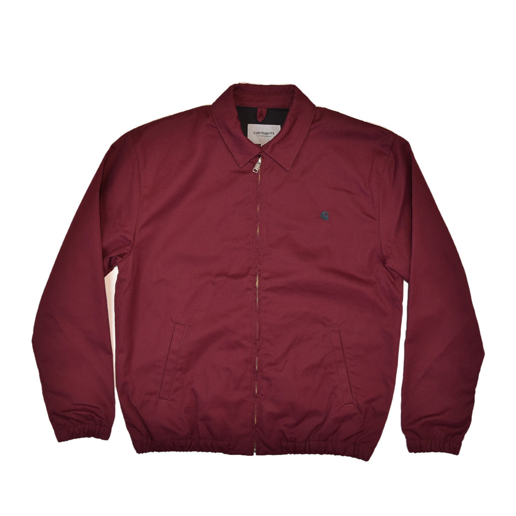 MADISON JACKET BENSON TWILL - MERLOT