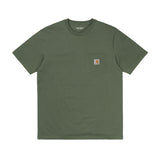 CARHARTT WIP S/S POCKET TEE - DOLLAR GREEN