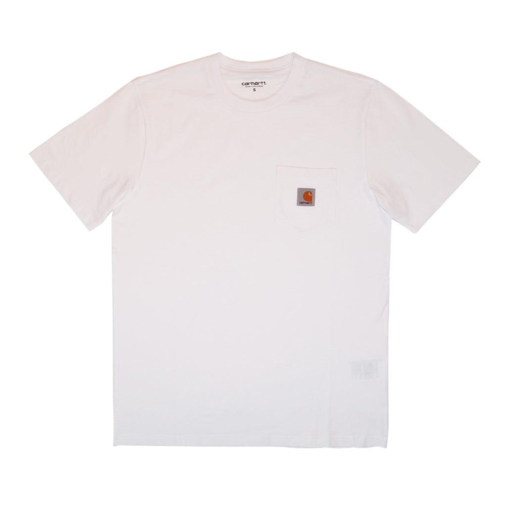 S/S POCKET TEE - WHITE