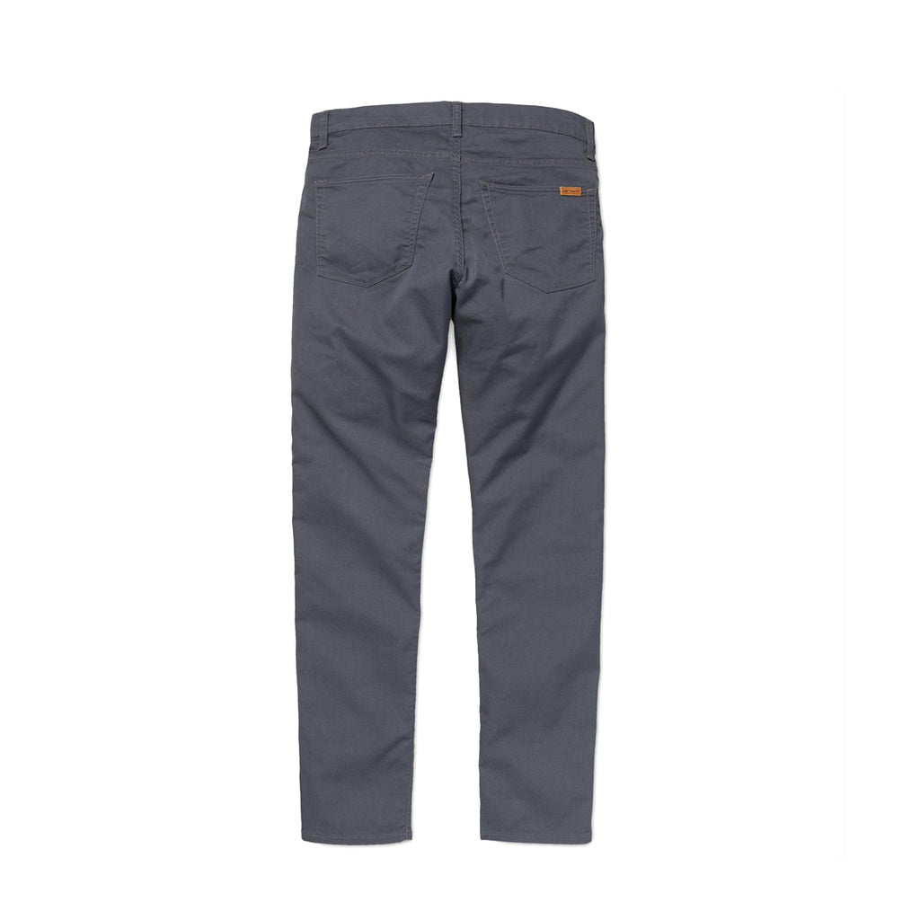 CARHARTT WIP VICIOUS STRETCH TWILL PANT - BLACKSMITH