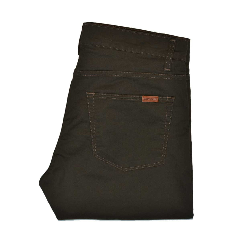 CARHARTT WIP VICIOUS STRETCH TWILL PANT - CYPRESS