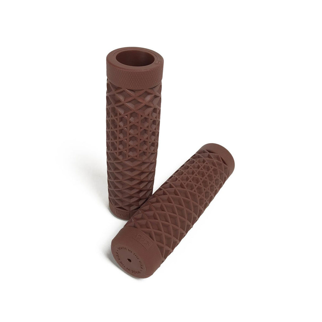 MOTORCYCLE GRIP - BROWN