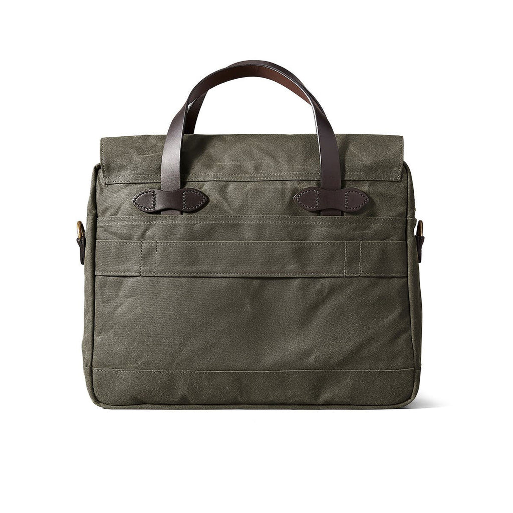 24-HOUR TIN CLOTH BRIEFCASE - OTTER GREEN
