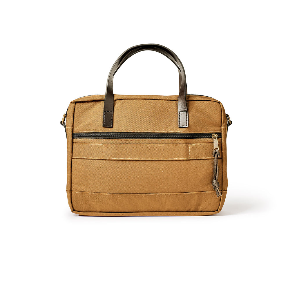 BALLISTIC NYLON DRYDEN BRIEFCASE - WHISKEY