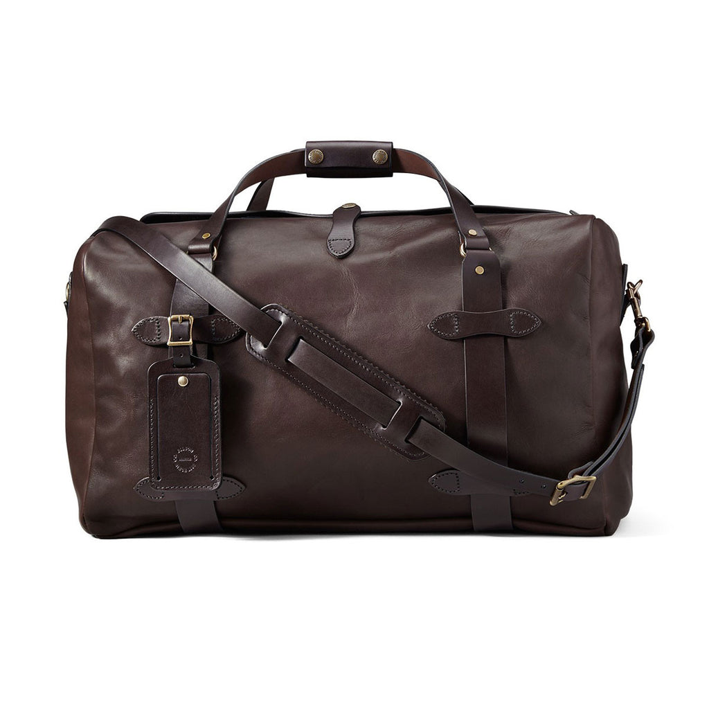 FILSON ALL LEATHER DUFFLE - SIERRA BROWN