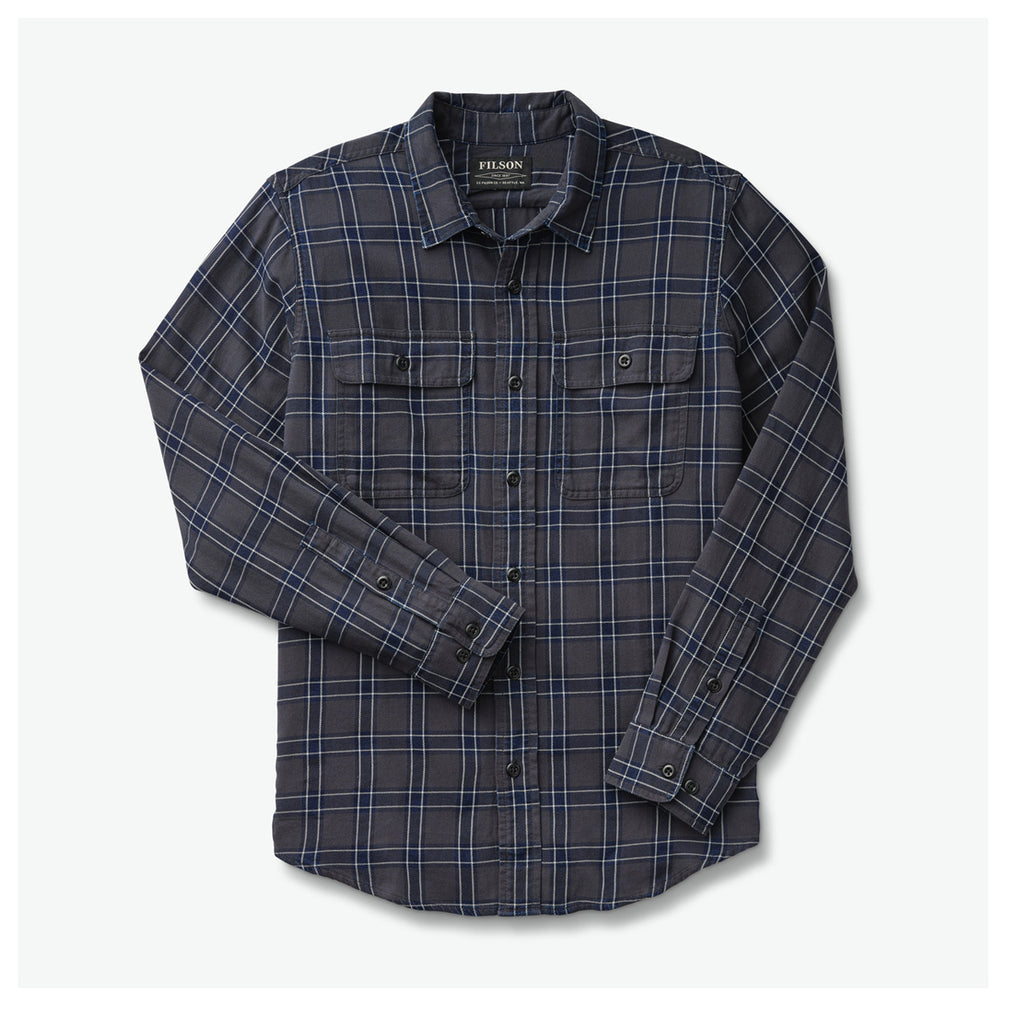FILSON SCOUT SHIRT - BLACK, INDIGO & PLAID
