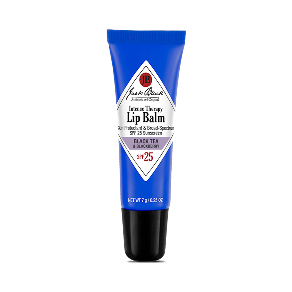 JACK BLACK INTENSE LIP THERAPY BALM - BLACK TEA & BLACKBERRY