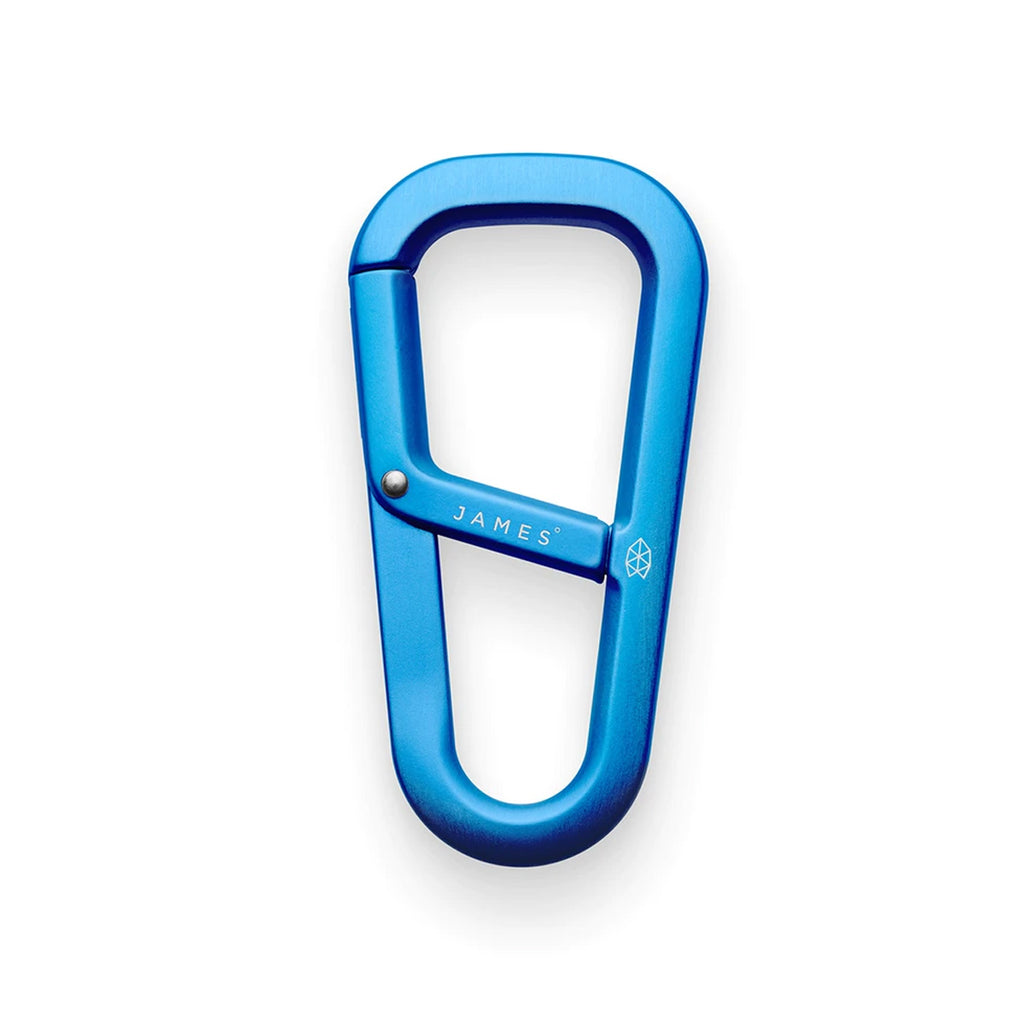 THE JAMES BRAND THE HARDIN CARABINER - CERULEAN