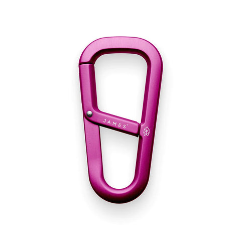 THE JAMES BRAND THE HARDIN CARABINER - PURPLE